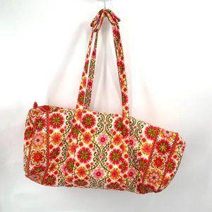 VERA BRADLEY XL Duffle Bag Folkloric Travel Bag